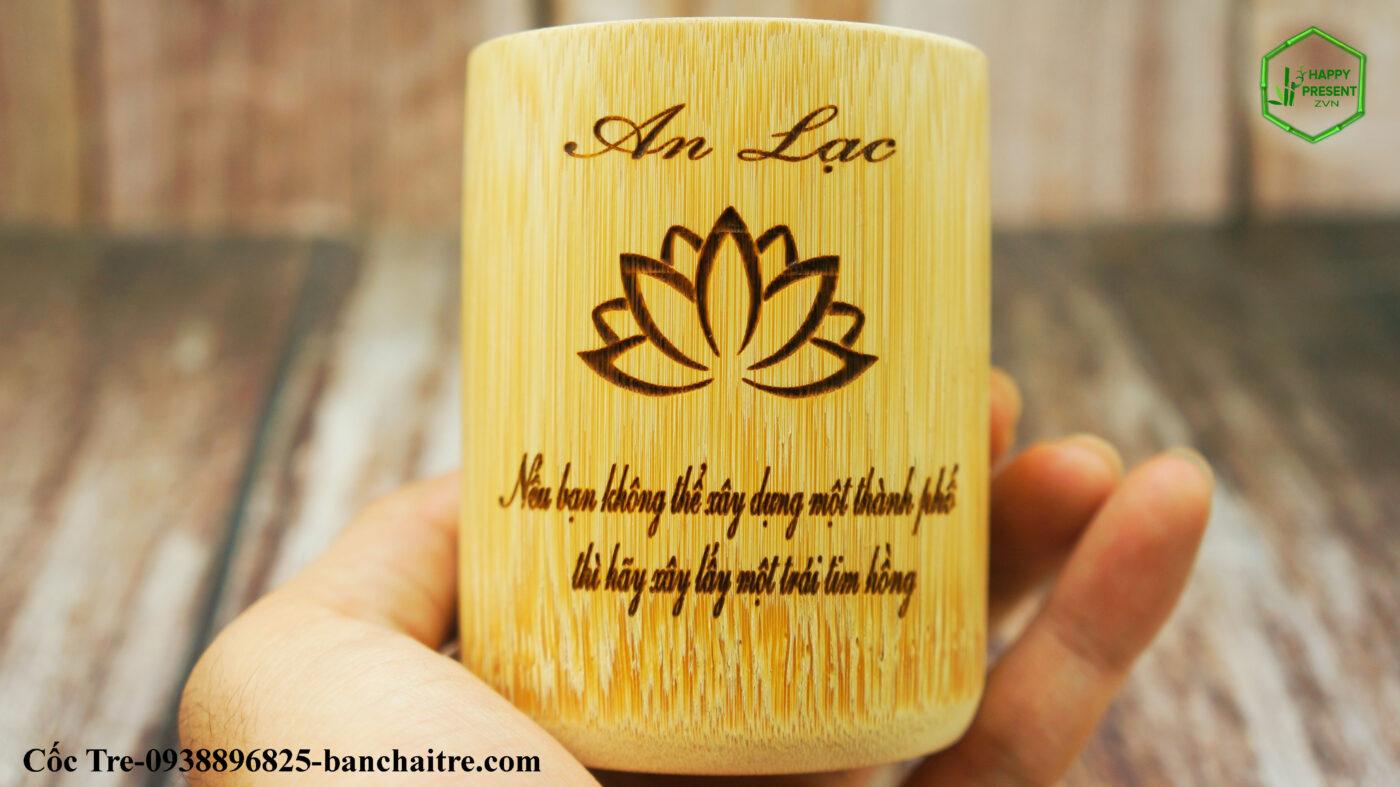 cốc làm từ tre
